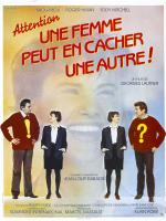 Attention une Femme Peut en Cacher une Autre ! (Réedition 1983) BluRay