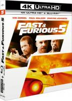 Fast & Furious 5 (Réédition) BluRay 4K + BluRay