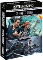 BluRay 4K+BR-Jurassic World: Le Coffret des 2 films BluRay 4K + BluRay